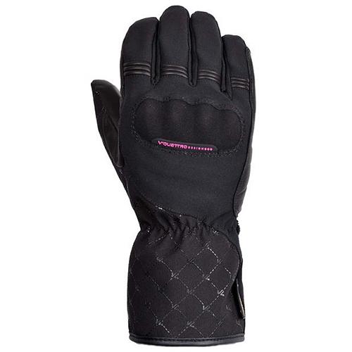 【東門城】V'QUATTRO QUARTZ-GTX_冬季防風保暖手套(黑)