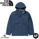 【The North Face 男 DryVent防水外套《藍》】497F/風衣/夾克/防風外套/運動外套