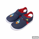 ADIDAS 童 FORTASWIM STRIPES C 防水 涼鞋 唐老鴨 - FW6051