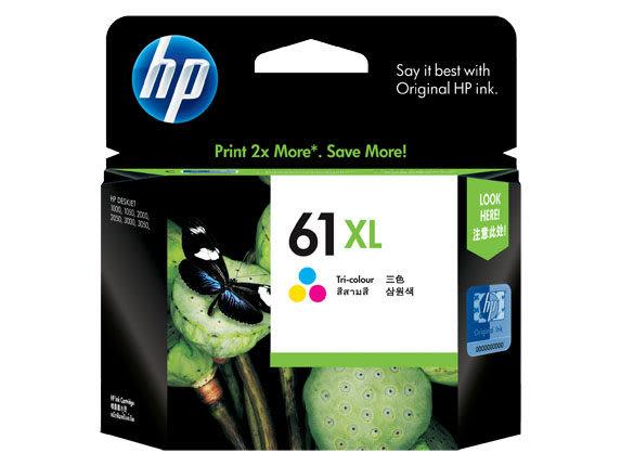 [奇奇文具]【HP 墨水匣】HP CH564WA/NO. 61XL 原廠彩色墨水匣