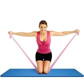 抖音瑜伽彈力帶開肩練肩膀健身小工具練肩膀開背薄背阻力帶 宜品