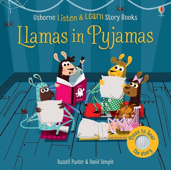 Listen And Learn Story Books:Llamas In Pyjamas 羊駝的睡衣派對 有聲故事書