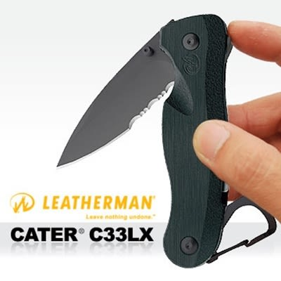 Leatherman Crater折刀(C33LX半齒半刃)LE 8601251N【AH17022】i-Style居家生活