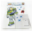 【收藏天地】迪士尼系列*裝飾貼紙-巴斯光年開關貼 ∕  文創 送禮 卡通 可愛 裝飾 禮品
