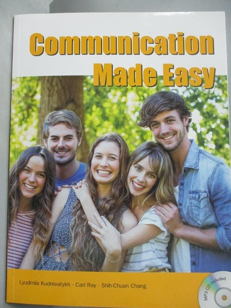 【書寶二手書T1/語言學習_YAF】Communication Made Easy_Lyndmila Kudrevatykh