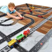 玩具 DIY 公路鐵路 交通 膠帶玩具 設計軌道 Mideer  BW