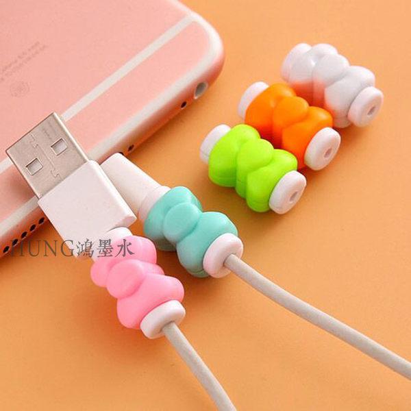 【SZ】蝴蝶結數據線夾 iPhone 7/8 傳輸線套 保護套 充電線 iPhone 7/8 Plus iPhone 7/8 I6S IPHONE6
