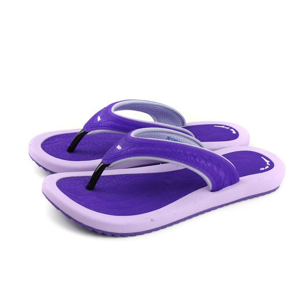 GP (Gold.Pigon) 阿亮代言 夾腳拖鞋 人字拖 女鞋 紫色 G8521W-41 no896