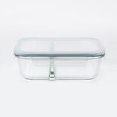 HOLA 微烤兩用全隔斷雙格保鮮盒-950ml
