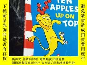二手書博民逛書店Ten罕見Apples Up on Top  .Y12498 D