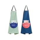 可愛卡通防水布藝圍裙(1入)【小三美日】款式隨機出貨