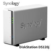Synology 群暉 DiskStation DS120j 1Bay NAS 網路儲存伺服器