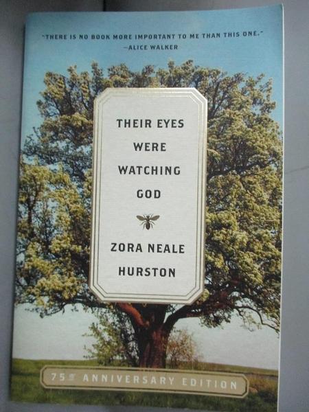 【書寶二手書T1/宗教_NDB】Their Eyes Were Watching God_Zora Neale Hurston