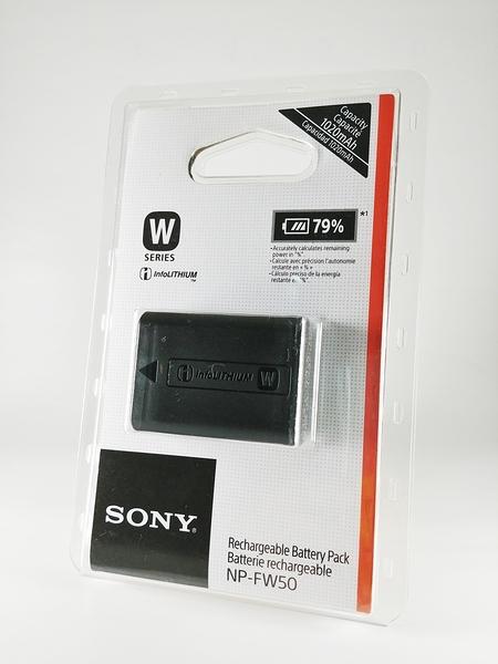 【完整盒裝】SONY NP-FW50 原廠電池 原廠鋰電池 台灣索尼公司貨