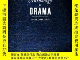 二手書博民逛書店The罕見Norton Anthology Of Drama (