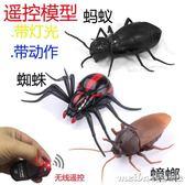 兒童玩具遙控動物創意遙控仿真蜘蛛螞蟻蟑螂整蠱模型玩具igo 美芭