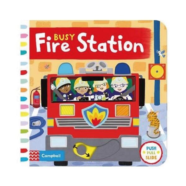 BUSY FIRE STATION 忙碌消防局操作書