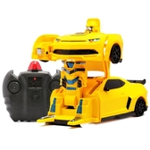 美致變形爬墻車充電動遙控汽車金剛機器人男孩兒童玩具汽車遙控車