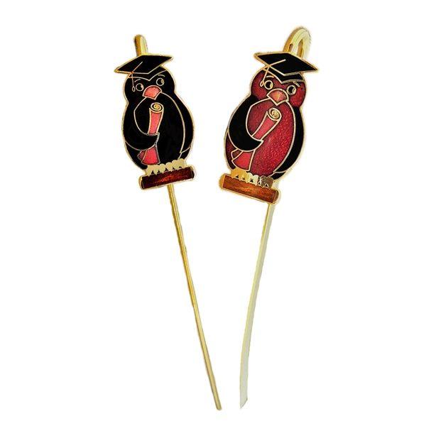 動物造型書籤 【景泰藍 企鵝造型金屬書籤】 琺瑯書籤  台灣紀念品 小禮物