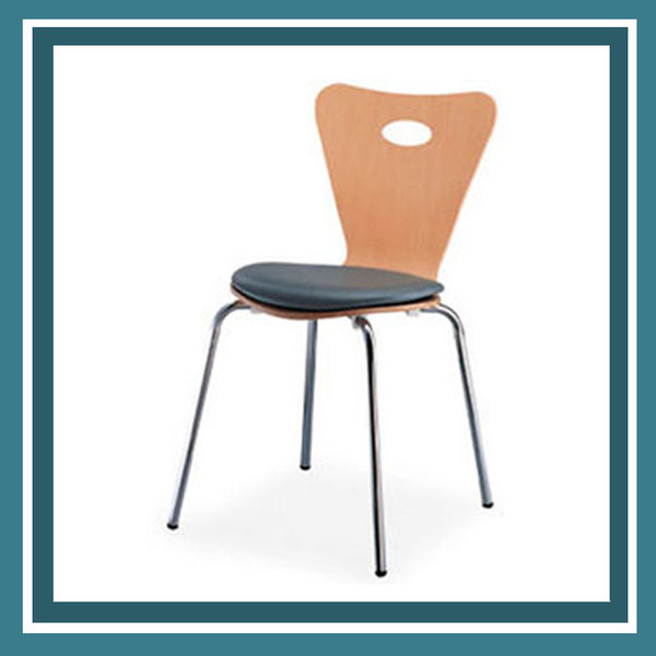 【必購網OA辦公傢俱】 ML-302 洽談椅 楓木 活動椅
