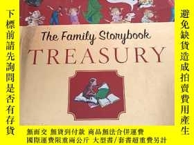 二手書博民逛書店The罕見Family Stongbook TREASURY(精裝庫存12開)含盤Y6318 TALES of