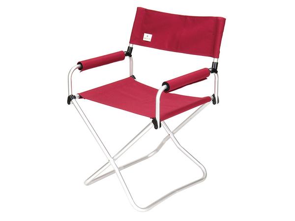 [好也戶外]snow peak 折疊椅-寬版紅(改款自LV-070RD) No.LV-077RD