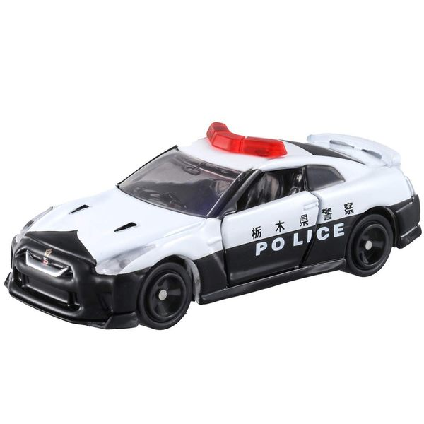 TOMICA 多美小汽車NO.105 日產 GTR 警車_TM105A5