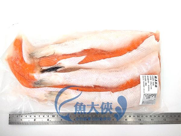 1E7A【魚大俠】FH177聯盛寬版鮭魚肚肉條(1KG/包)