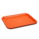 塑料托盤長方形彩色水果盤子茶盤快餐盤幼兒...