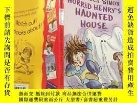 二手書博民逛書店HORRID罕見HENRYS HAUNTED HOUSE:可怕的 亨利鬼屋 .Y200392