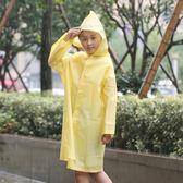 單人雨衣加大透明防水長款雨披