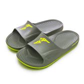LIKA夢 GOODYEAR 固特異 防水輕量彈力休閒運動拖鞋 乘風踏浪系列 灰綠 93778 男
