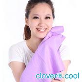 里和Riho 大毛巾 冰涼巾 路跑巾 紫丁香 瞬間涼感多用途 SGS檢測不含塑化劑 台灣製造 冰領巾
