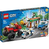樂高 LEGO 60245 警察巨輪卡車搶案