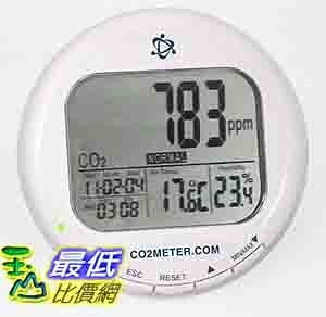 [美國直購 ShopUSA] 二氧化碳品質監測儀 Indoor Air Quality Meter - CO2, Temperature & Relative Humidity