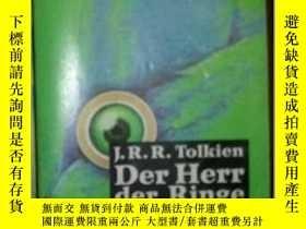 二手書博民逛書店Der罕見Herr der Ringe - Band 3 德文版