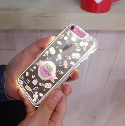 [24hr 火速出貨] iphone 6 plus / iphone5 5s se 手機殼 來電閃光 浮雕 彩繪 保護套 手機套