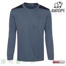 瑞多仕RATOPS 男款THERMOLITE保暖排汗衣 藍灰色 DB6039 圓領上衣 T恤 中層衣 OUTDOOR NICE