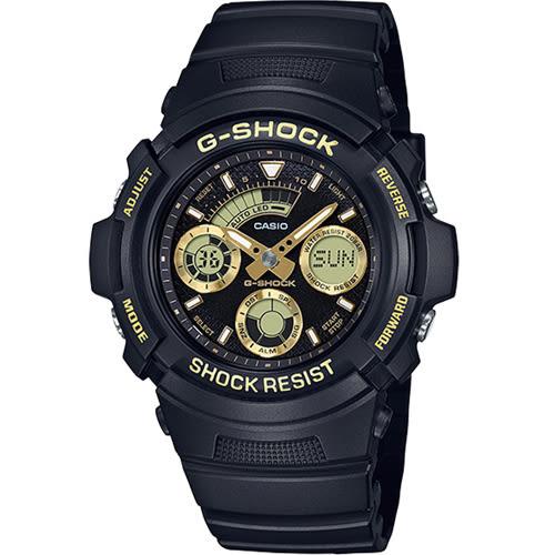 AW-591GBX-1A9 CASIO G-SHOCK 世界時間多功能運動錶
