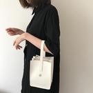 手拿包女 迷你時尚小包包2021新款韓版簡約多層百搭水桶手提手拿女包【快速出貨八折下殺】