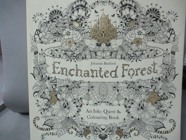 【書寶二手書T9/藝術_JDL】Enchanted Forest_Johanna Basford