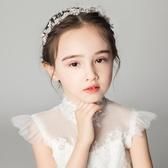 女童頭飾兒童發箍水鑚頭箍女孩飾品禮服配飾演出發飾頭花花童皇冠