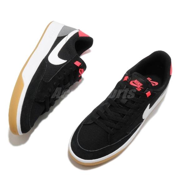 Nike 滑板鞋 SB Adversary PRM 黑 紅 男鞋 女鞋 麂皮 復古 休閒鞋 【ACS】 CW7456-002