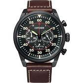 CITIZEN 星辰 光動能計時手錶-44mm CA4218-14E