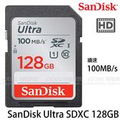 SanDisk Ultra SD SDXC 128GB C10 100MB/S 667X 高速記憶卡 (免運 增你強/群光代理終身保固) 128G SDSDUNR-128G