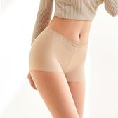 貝貝居 安全褲 安全褲 無痕舒適中腰女生內衣 莫代爾蕾絲透氣平角內褲女