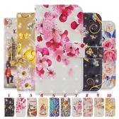 小米 紅米note7 手機殼 卡通 可愛 碎花 彩繪 保護套 全包 磁扣 支架 皮套 可插卡 翻蓋 保護殼