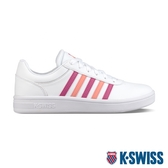 K-SWISS Court Cheswick S時尚運動鞋-女-白/桃紅