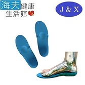 佳新 肢體裝具(未滅菌)【海夫】佳新醫療 人體工學曲線 填充支撐 吸震 拇指外翻足鞋墊(JXFS-003)