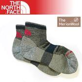 【The North Face 輕量健行羊毛襪 《棕/黑》】3CNO//吸濕/抗菌/美麗諾/彈性襪